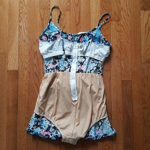 Vintage Pants & Jumpsuits - RARE Vintage 1970's Catalina Swim Playsuit Romper